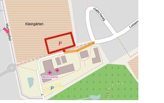 Parkplatz Marienhospital